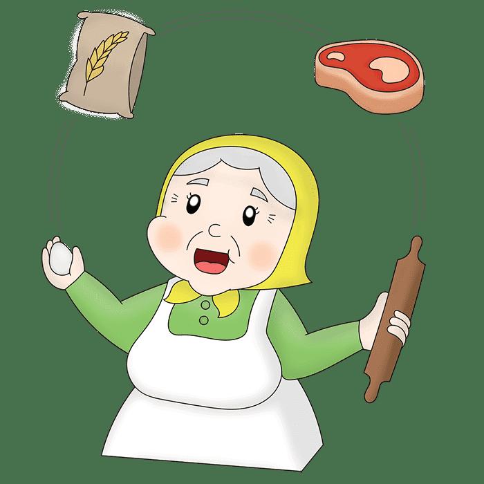 Nonna Cesira Giocoliera